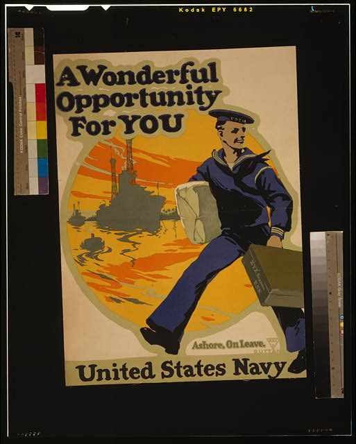 A wonderful opportunity for you--United States Navy