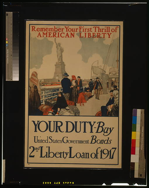 Remember your first thrill of American liberty Your duty - Buy United States government bonds--2nd Liberty Loan of 1917 /
