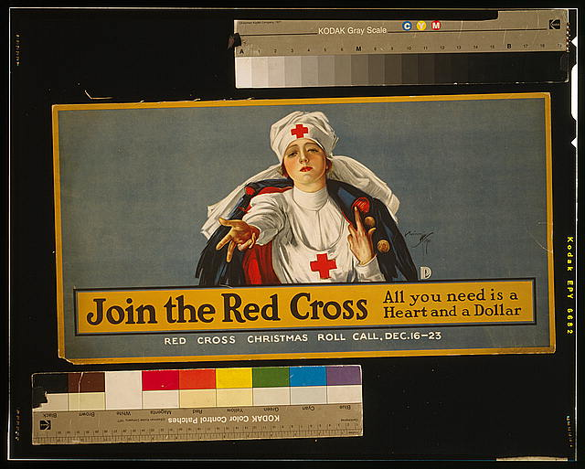 Join the Red Cross - all you need is a heart and a dollar Red Cross Christmas roll call, Dec. 16-23 /