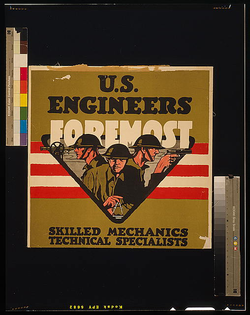 U.S. Engineers - Foremost Skilled mechanics, technical specialists.