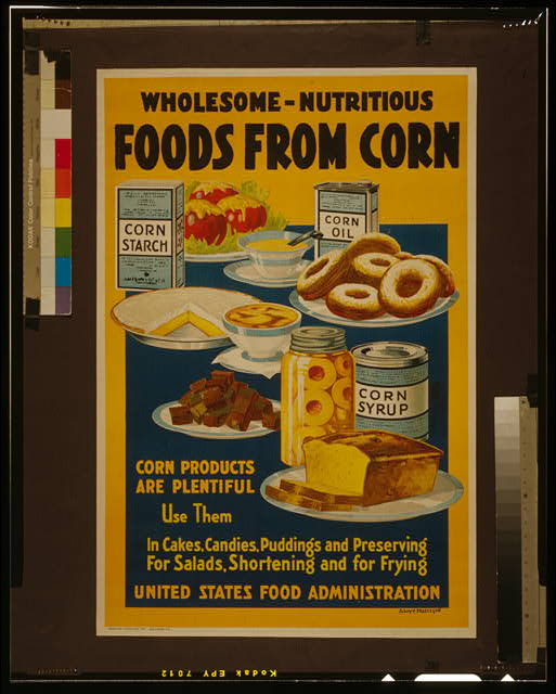 Wholesome - nutritious foods from corn