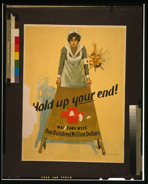 Hold up your end! War fund week - one hundred million dollars