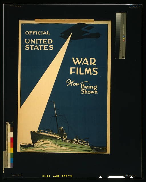 Official United States war films now being shown
