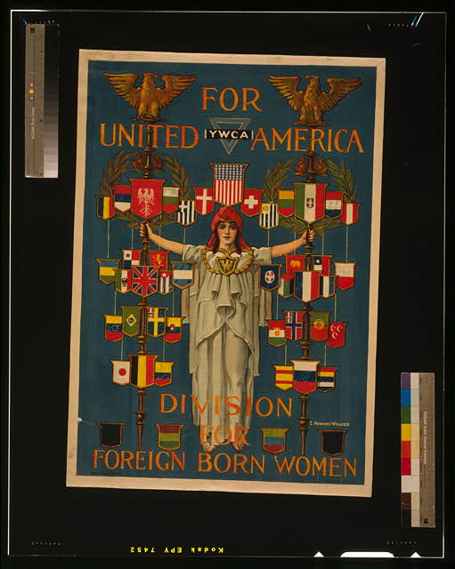 For united America, YWCA division for foreign born women