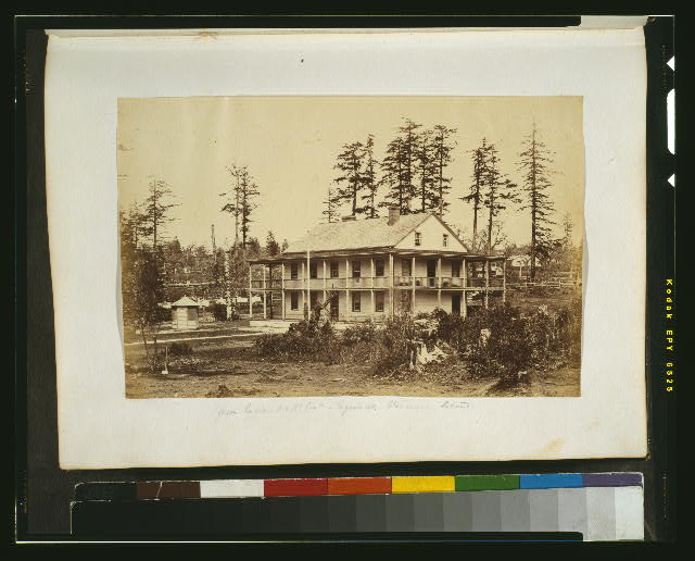 Officers' quarters, N. A. B'y. Com'n. [i.e., North American Boundary Commission] - Esquimalt, Vancouver Island