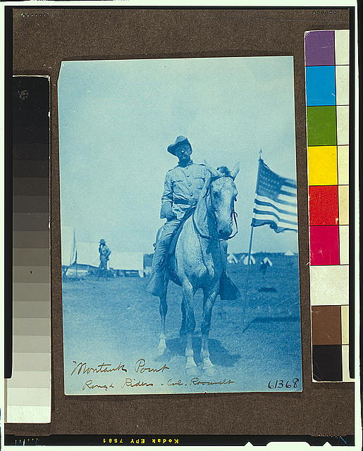 Montauk Point, Rough Riders, Col. Roosevelt