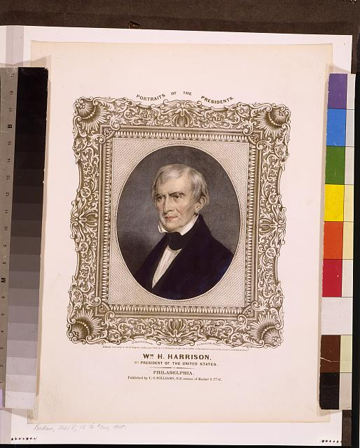 Wm. H. Harrison, 9th President of the United States