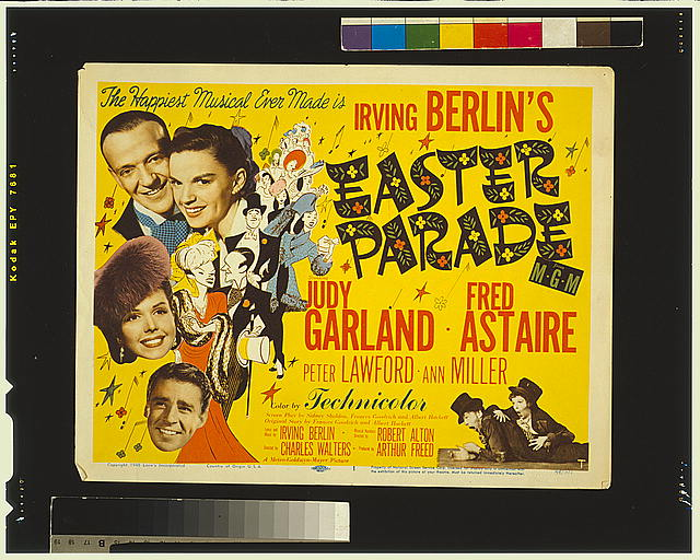 Poster for the film Easter Parade