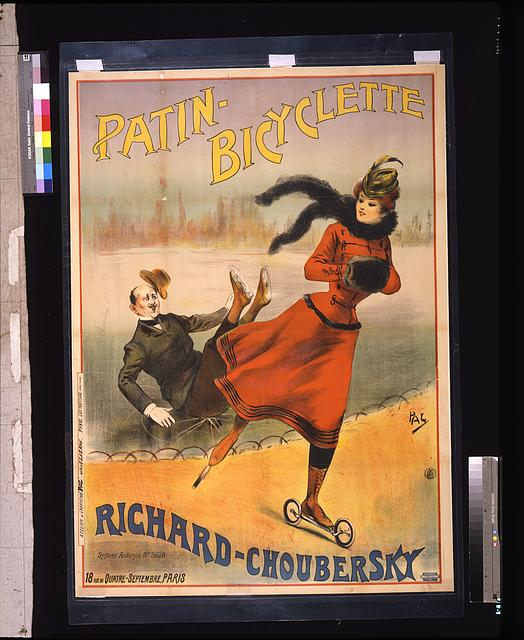Patin-bicyclette -- Richard-Choubersky