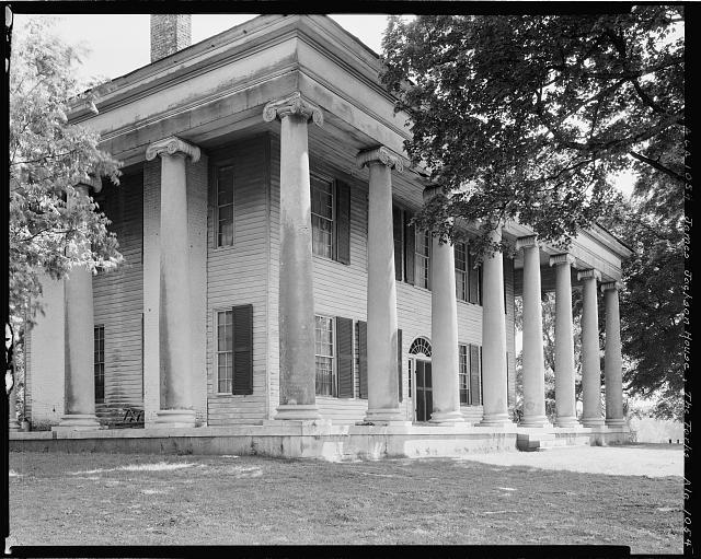 James Jackson House, Florence vic., Lauderdale County, Alabama