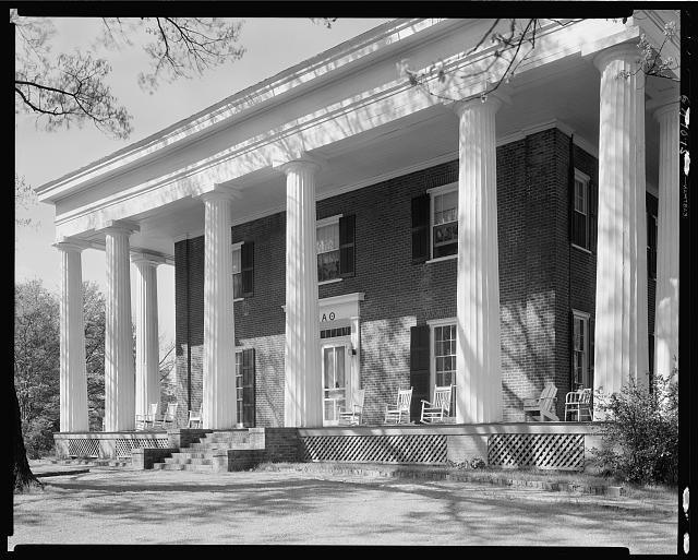 Dearing House, Milledge Ave. & Waddell, Athens, Clarke County, Georgia