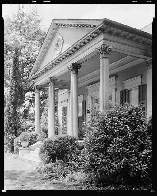 Dr. Baird House, Wynnton Road at Lockwood St., Columbus, Muscogee County, Georgia