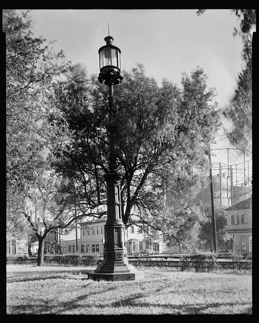 Beacon Light in Harbor, Savannah, Chatham County, Georgia