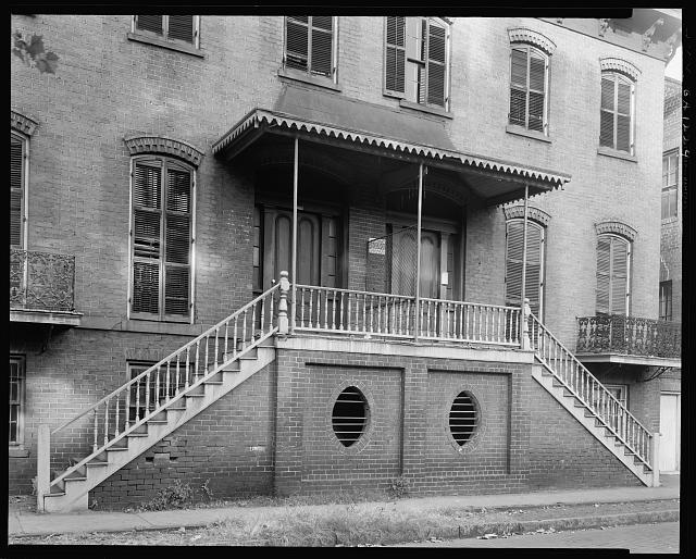 Battersby Tenements, 108-110 Harris St., West, Savannah, Chatham County, Georgia
