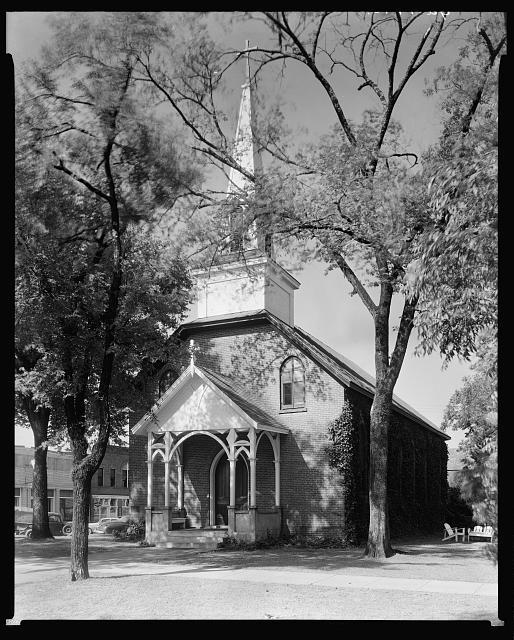 Catholic Church, Milledgeville, Baldwin County, Georgia