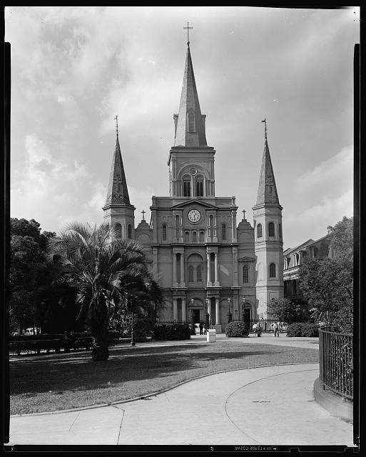 St. Louis Cathedral, New Orleans, Orleans Parish, Louisiana