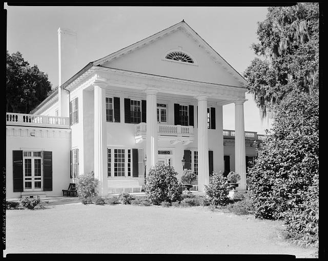 Orton Plantation, near Wilmington, Brunswick County, North Carolina