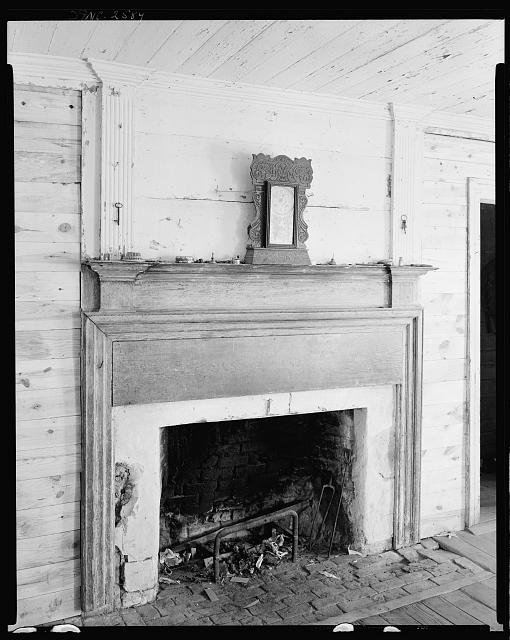Burton House, Beattie's Ford Plantation, Lincoln County, North Carolina