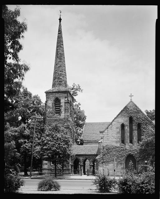 Christ Church, Wilmington and Edenton St., Raleigh, Wake County, North Carolina