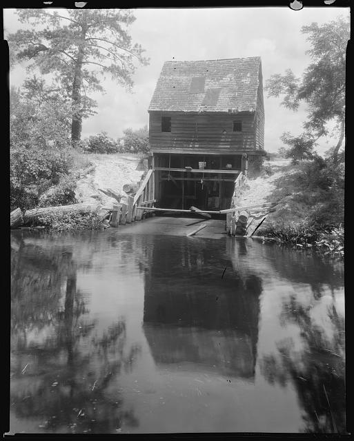 Drummond Mill, store, and cabin, Lee Mont vic., Accomac County, Virginia