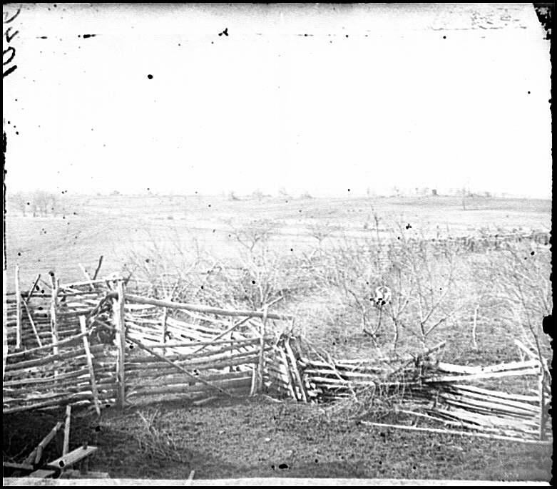 [Bull Run, Va. View of the battlefield]