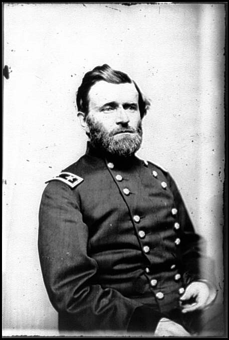 [Portrait of Maj. Gen. Ulysses S. Grant, officer of the Federal Army]