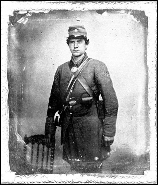 [Portrait of a Confederate soldier?]
