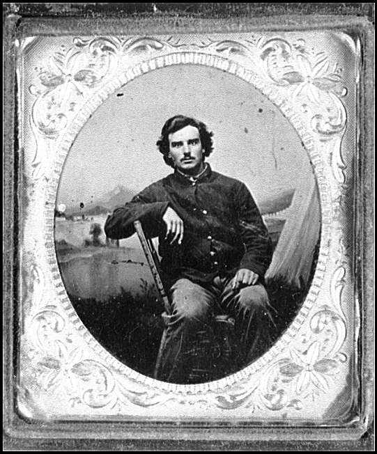 [Portrait of Corp. Charles W. Chase, Company C, 7th Vermont Infantry]