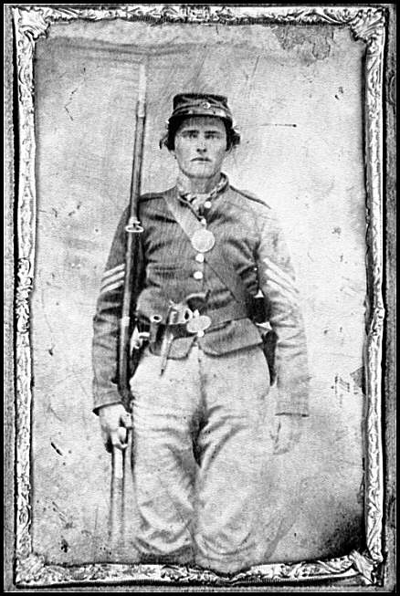 [Portrait of a Federal soldier]