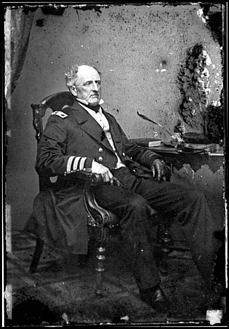 [Portrait of Commodore Franklin Buchanan, C.S.N., officer of the Confederate Navy]