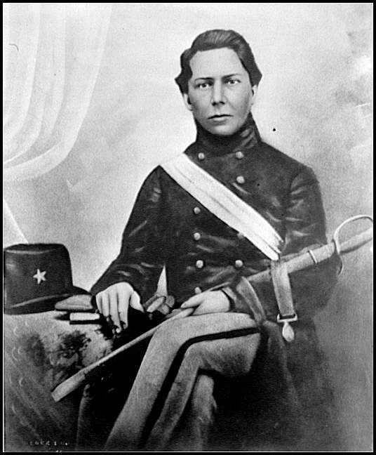 [Portrait of Lt. Bartley Pace Bynum, C.S.A., also Chaplain in the Confederate Army]