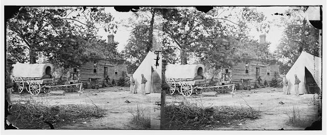 Fair Oaks, Virginia. House on Fair Oaks battlefield used as a hospital by Hooker's Division