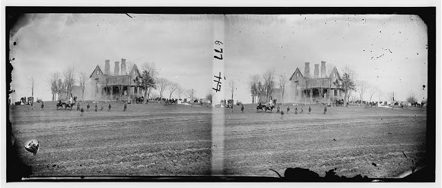 [Falmouth, Va., vicinity. The Phillips house immediately after the fire]