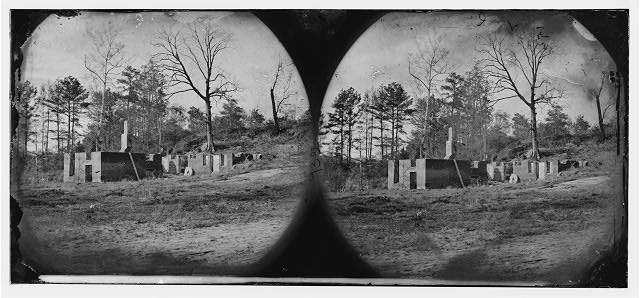 [Cold Harbor, Va., vicinity. Ruins of Gaines' mill]