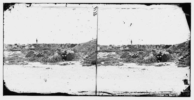 [Fort Fisher, N.C. Interior view]