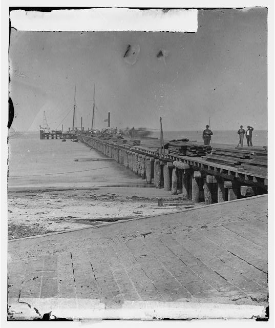 [Hilton Head, S.C. Dock built by Federal troops]