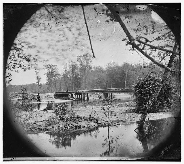 [Chickahominy River, Va.  Bridge on Mechanicsville road]