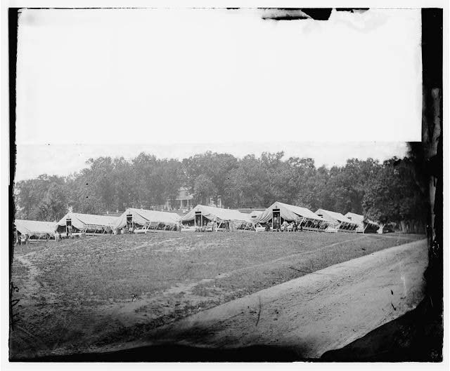 Washington, District of Columbia (vicinity). Hospital camp. Kendall Green