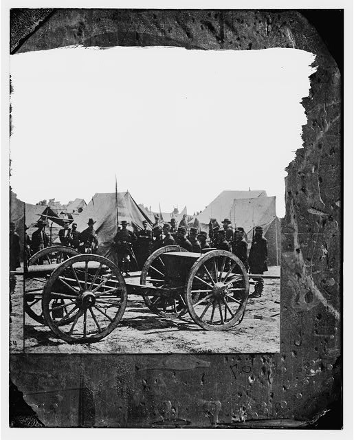 [The Peninsula, Va. A 12-pdr. howitzer gun captured by Butterfield's Brigade near Hanover Court House, May 27, 1862]
