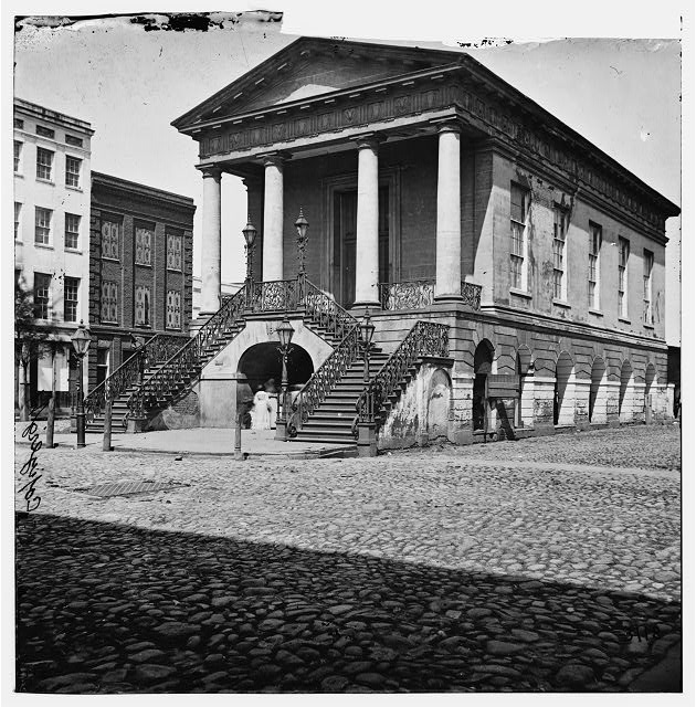 Charleston, South Carolina. Old market house, corner of Meeting and Market Streets
