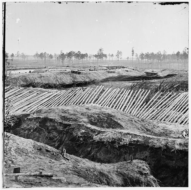 [Petersburg, Va. View from breastworks of Fort Sedgwick]