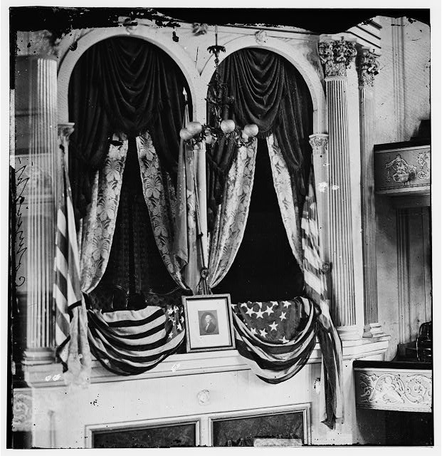 [Washington, D.C. President Lincoln's box at Ford's Theater]