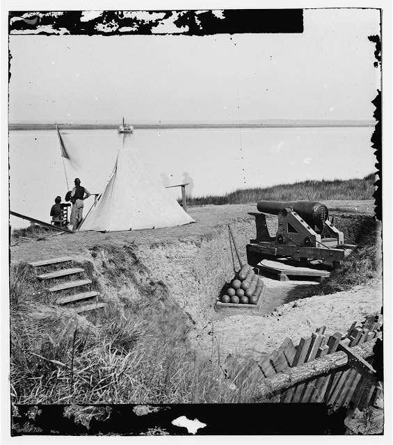 [Savannah, Ga., vicinity. Signal station on the Ogeechee at Fort McAllister]