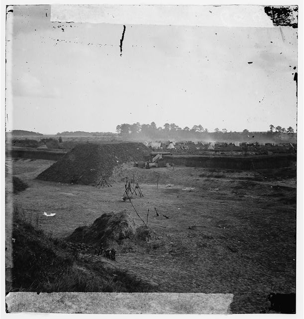 Savannah, Georgia (vicinity). View of Fort on the Ogeechee River