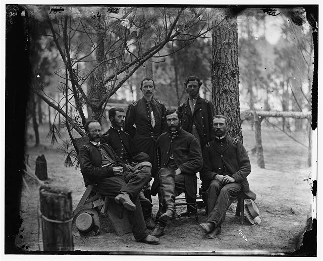 [Broadway Landing, Va.  Surgeons of 4th Division, 9th Corps]