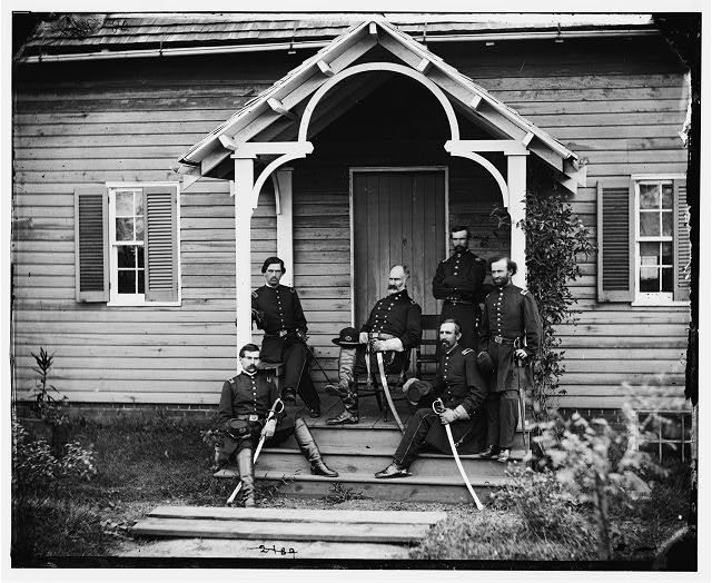 [Culpeper, Va. Provost Marshal General Marsena R. Patrick and staff]