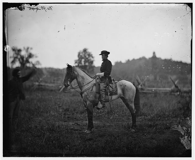 [Bealeton, Virginia]. Captain Henry Page, A. Q. M. Army of the Potomac headquarters