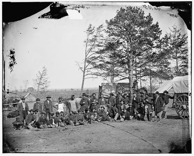 [Brandy Station, Va. Scouts and guides of the Army of the Potomac]