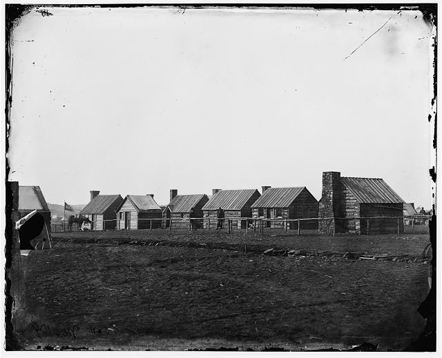 [Brandy Station, Va. Officer's quarters, U.S. Engineers]