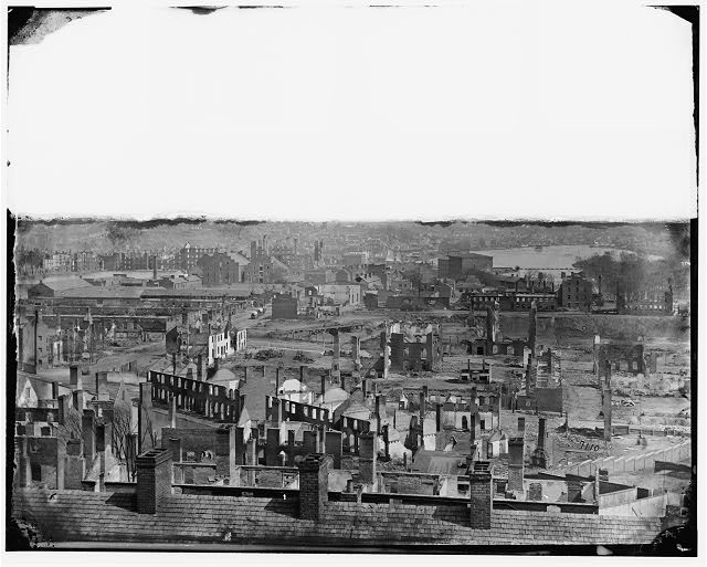 [Richmond, Va. General view of the burned district]